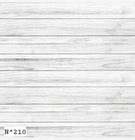 Фотофон виниловый «Белый деревянный пол» №210