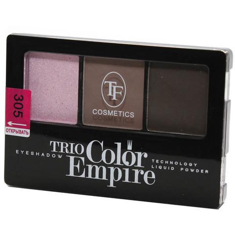 ТФ Тени трехцветные компактные тон 305 розовая дымка CTE-22