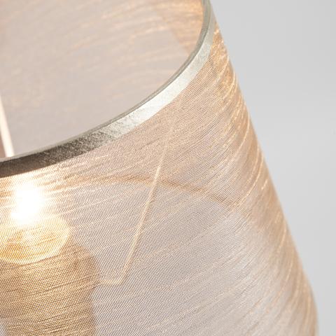 Настольная лампа с абажуром 01075/1 перламутровое золото