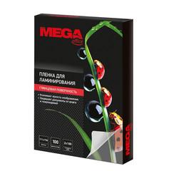 Пленка для ламинирования Promega office 111x154 (А6) 100 мкм глянцевая (100 штук в упаковке)