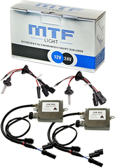 Комплект би-ксенона MTF Light 50W H4 (4300K)