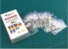 Набор выводных резисторов 0.25W (10 Ом-91 Ом) 24 номинала по 10шт.