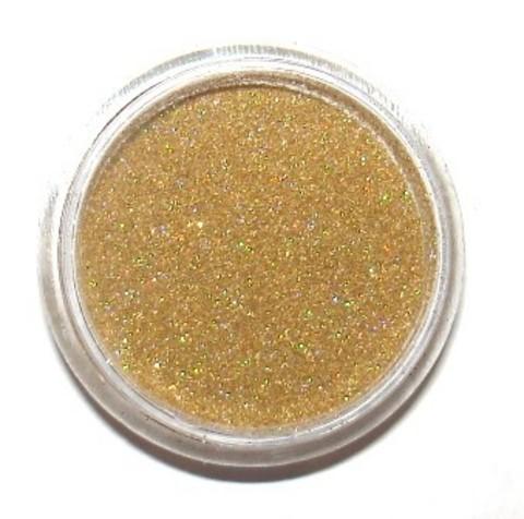 Блестки в банке 3 гр мелкие  голографическое золото