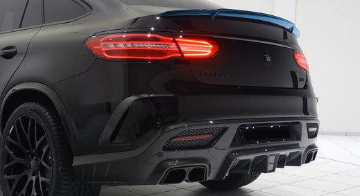 Карбоновый спойлер крышки багажника для Mercedes GLE-Coupe 63 AMG