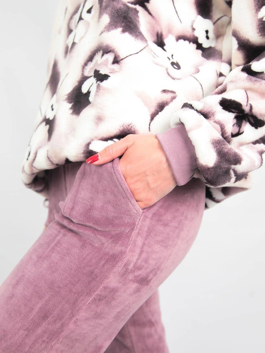 Комплект женский толстовка с брюками
