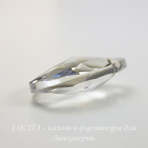 6106 Подвеска Сваровски Капля Crystal Silver Shade (28 мм) ()