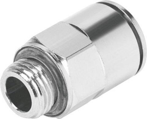 Штуцер цанговый Festo NPQM-D-G18-Q4-P10 (комплект 10 шт)
