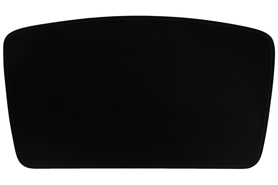 Форма бювара модель 4 - трапецевидная с закругленными углами и полукруглым верхом и боковыми сторонами, низ - прямой.