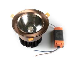 светильник точечный L8809COB-30W-Copper