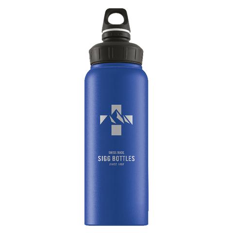 Бутылка Sigg WMB Mountain (1 литр), голубая