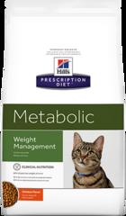 Ветеринарный корм для кошек Hill`s Prescription Diet Metabolic, для коррекции веса, с курицей