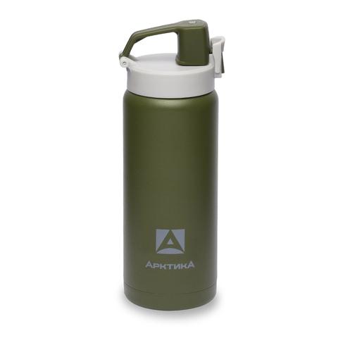 Термос (сититерм-вакуумный) Арктика (0,5 литра),зеленый