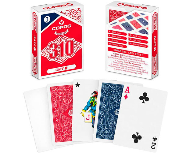 Copag 310 (gaff deck 1) - трюковые карты