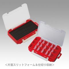 Коробка под приманки MEIHO RUNGUN CASE 1010W-1 RED