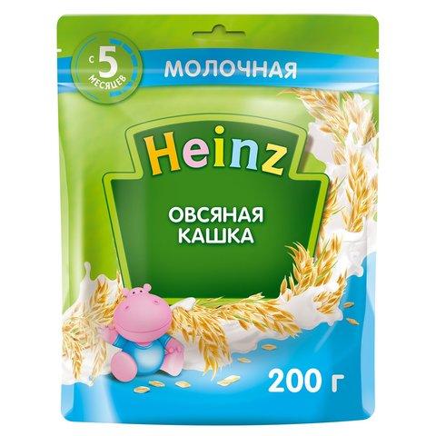 Каша Heinz молочная овсяная с Омега 3, 5+ мес