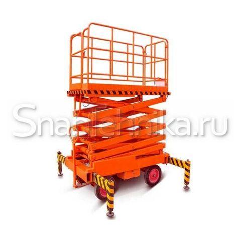 Ножничный подъемник передвижной SJY 500 кг 9 м (сеть)