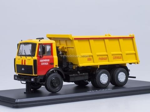 MAZ-5516 tipper Emergency Service Start Scale Models (SSM) 1:43