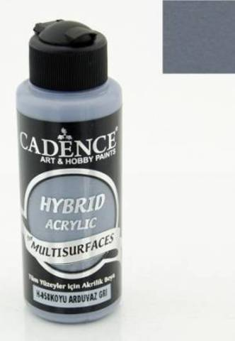 №58 Hybrid Acrylic, Темно-серый, 70мл., Cadence