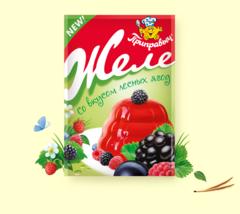 Желе со вкусом лесных ягод 100гр.