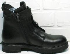 Демисезонные черные ботинки женские Tina Shoes 292-01 Black.