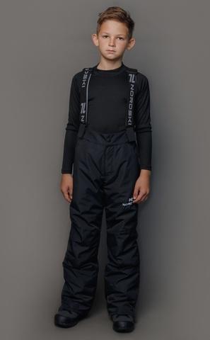 Горнолыжные брюки Nordski Jr.Extreme black подростковые