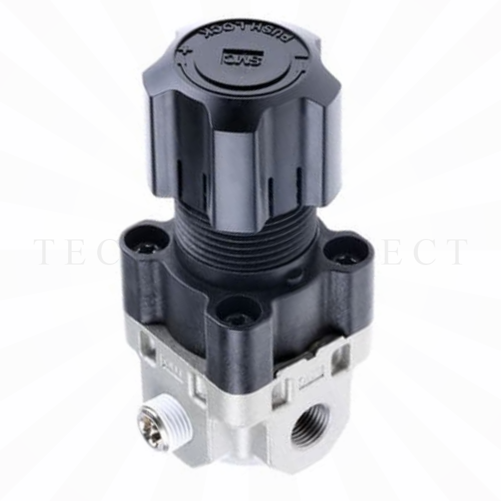 ARX21-F01P   Компактный регулятор, G1/8