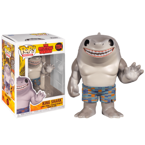 Funko POP! Movies The Suicide Squad King Shark
