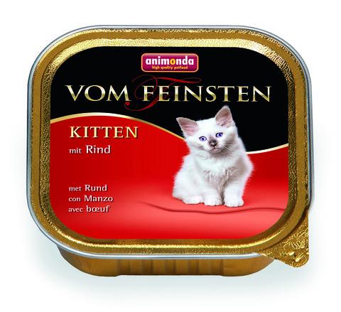 Консервы Animonda Vom Feinsten Kitten с говядиной для котят