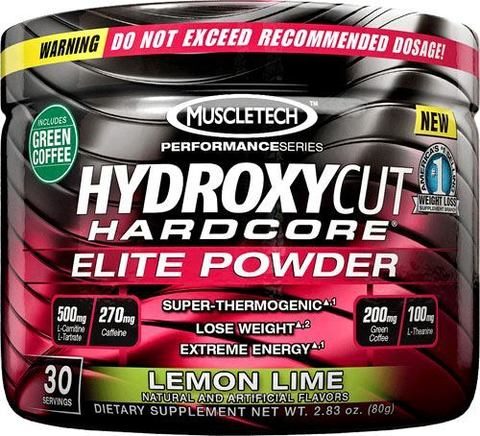 Жиросжигатель MuscleTech Hydroxycut Elite Powder