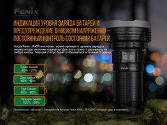 Фонарь Fenix LR40R 12000 lm аккумуляторный