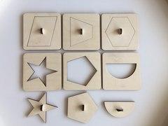 Комплект трафаретов Геометрия 1