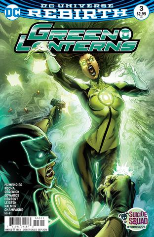 DC Universe Rebirth Green Lanterns #3