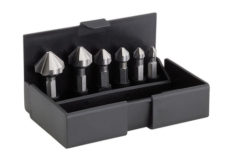 Набор зенковок-бит HSS 6,3-20,5mm VOLKEL