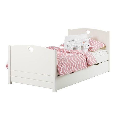 Детская кровать Кидс 23 (скандик белый)