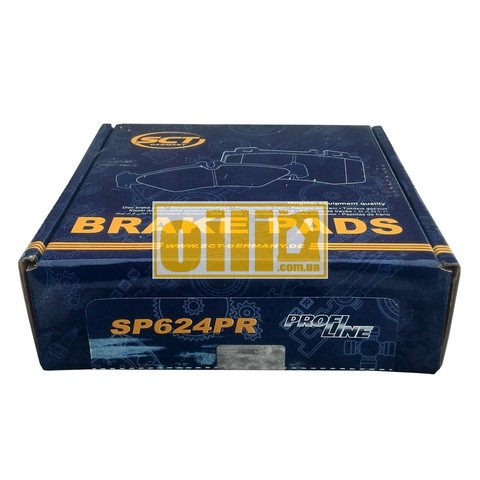 Тормозные колодки SCT SP624 (Mercedes-Benz Sprinter, Vito)