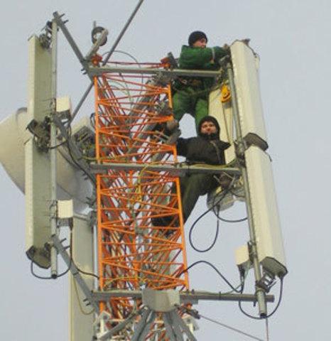 Монтаж сотовой связи