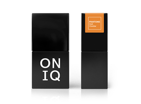 ONIQ Гель-лак 186, Pantone: Dark Cheddar, 10 ml