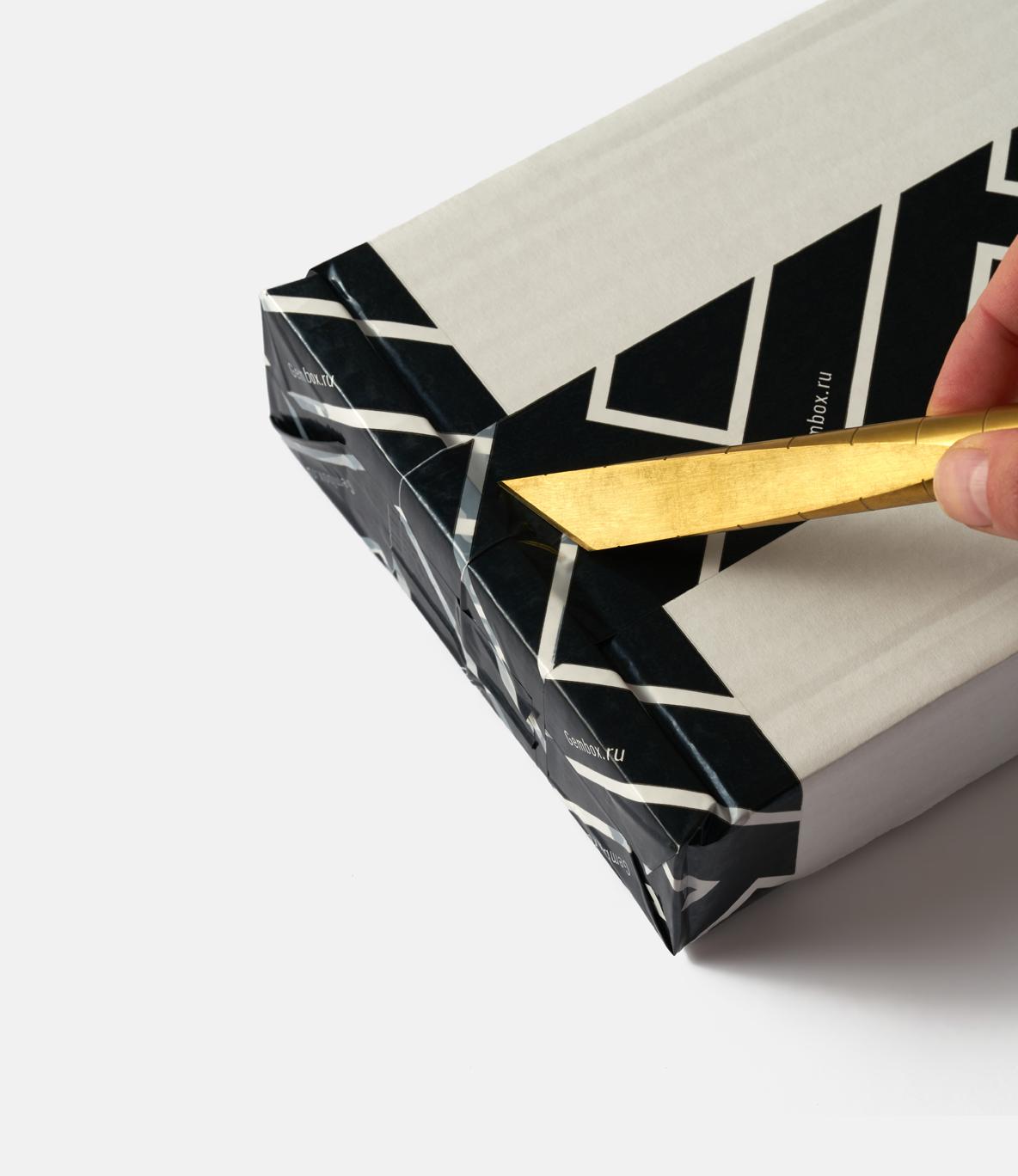 Craighill Desk Knife Brass — настольный нож из латуни