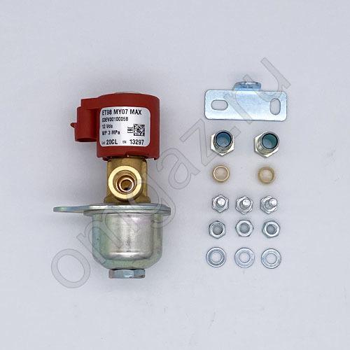 Электромагнитный клапан Газовый BRC ET S д. 8 мм (под фишку)