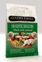 Golden Eagle Сухой корм Golden Eagle Holistic Duck with Oatmeal Голден Игл Холистик Утка с овсянкой BDuck.jpg