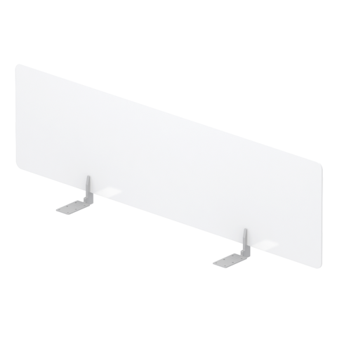 Экран оргстекло настольный фронтальный для стола Bench.