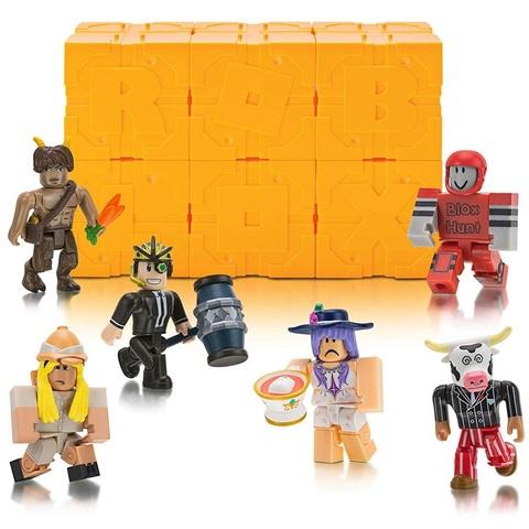 Роблокс Тайный набор из 6 штук, серия 5 Жёлтые