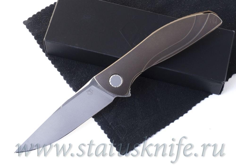 Нож Широгоров Неон NeOn CD Bronze Custom Division