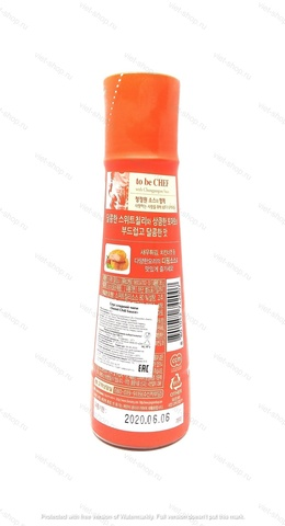 Корейский соус Sweet Chili Sause (сладкий чили), 365 гр.