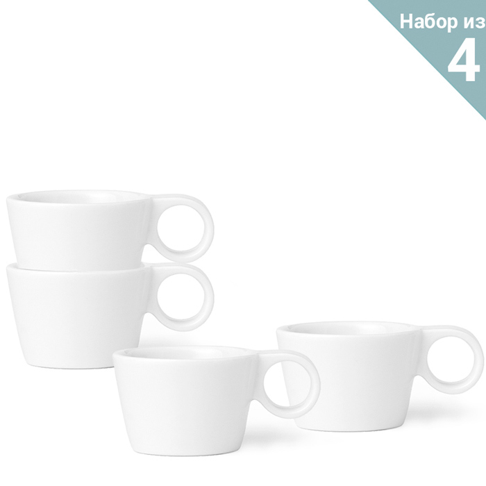 "Чайная чашка Viva Scandinavia ""Jaimi"" 80 мл, 4 шт."