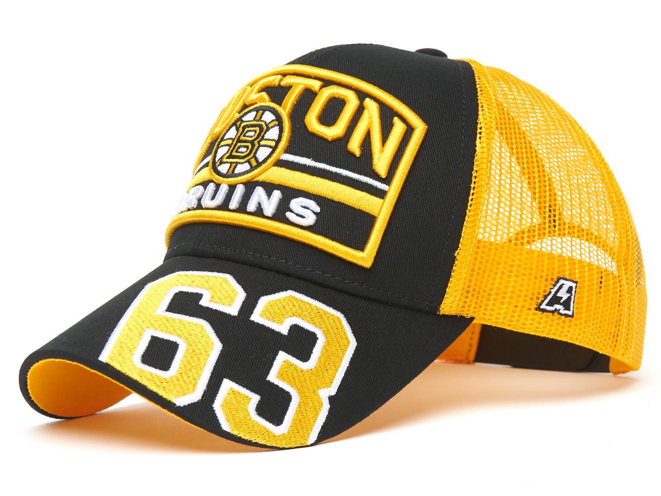 Бейсболка NHL Boston Bruins №63