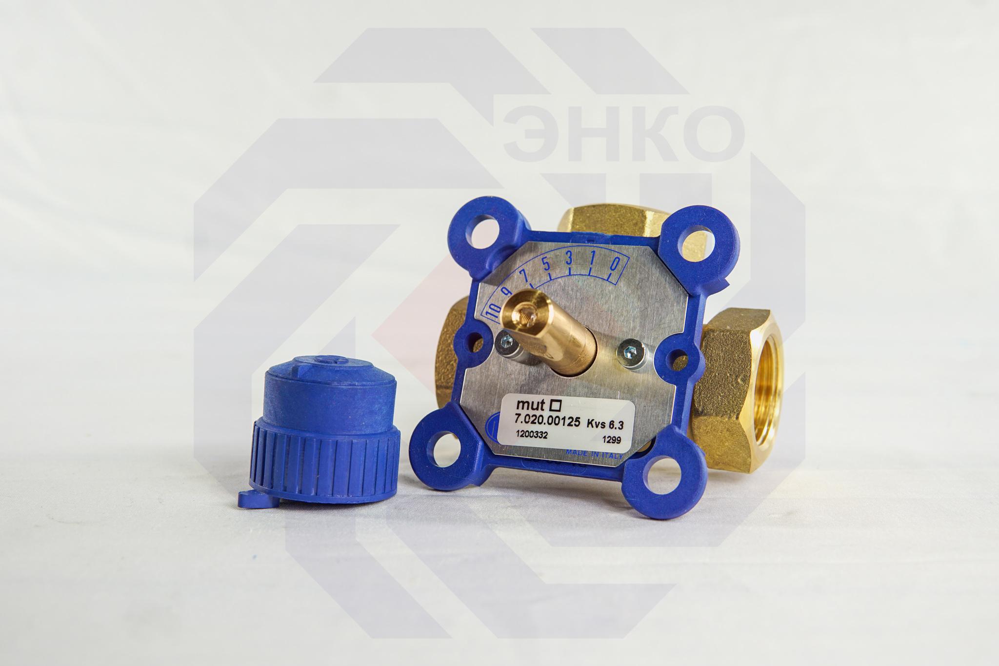 Клапан поворотный трехходовой MUT VDM3 3000M ¾