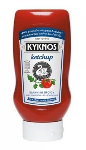 Кетчуп со Стeвией Kyknos 580 гр