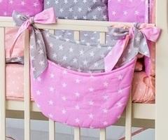 Карман для мелочей на детскую кроватку