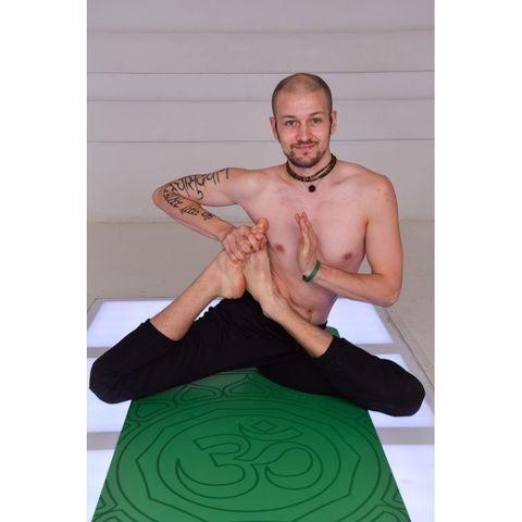 Каучуковый коврик для йоги Om 185*68*0,4 см